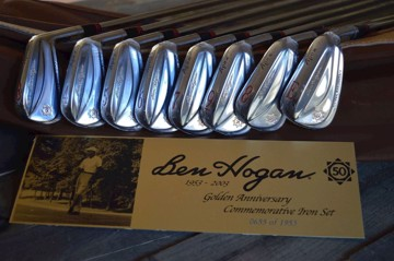 BEN HOGAN IRON SET - THE 50TH ANNIVERSARY LIMITED EDITION # 0655 of 1953 SETS