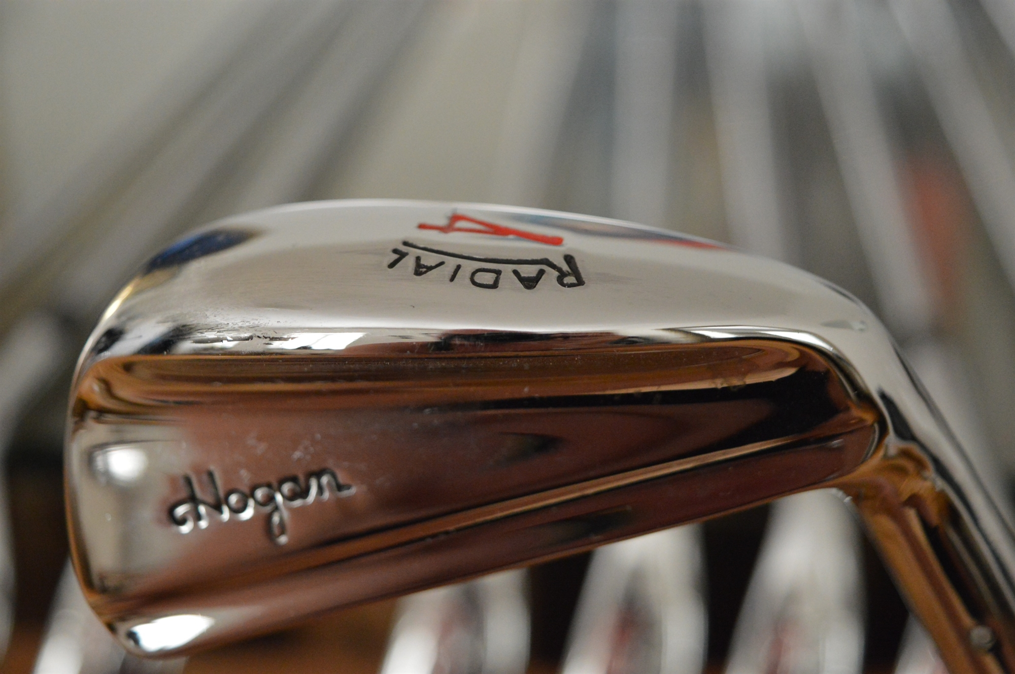 Ben Hogan Forged Iron Set 1/E - 1983 RADIAL 1/E complete set - refurbished