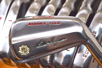 Ben Hogan Vintage golf iron set - 1971 Bounce Sole 1/E. - free shipping to USA, UK and EU.