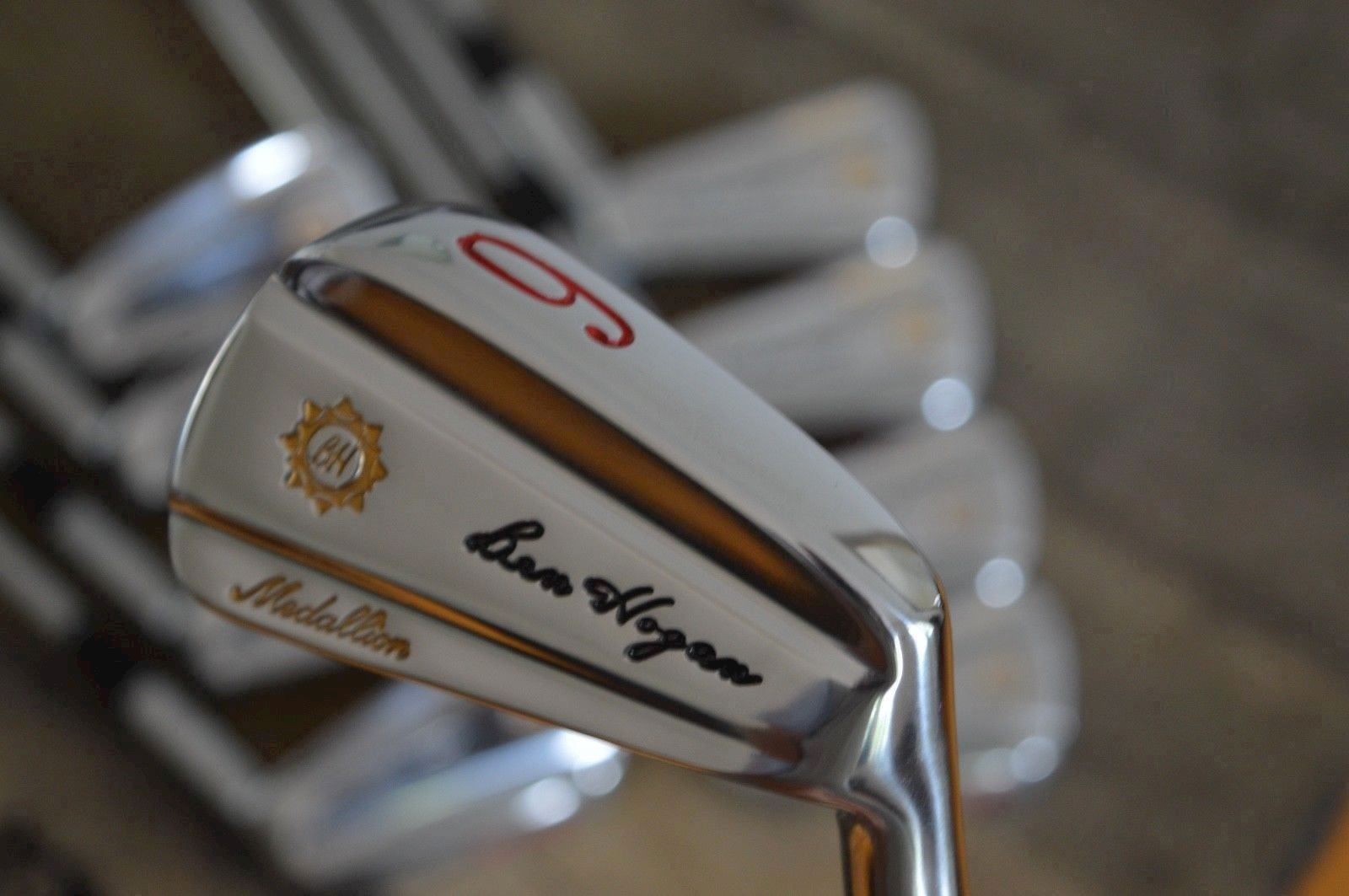 Ben Hogan forged iron set - 2/E - 1982 Apex Medallion refurbished to mint and ready for play