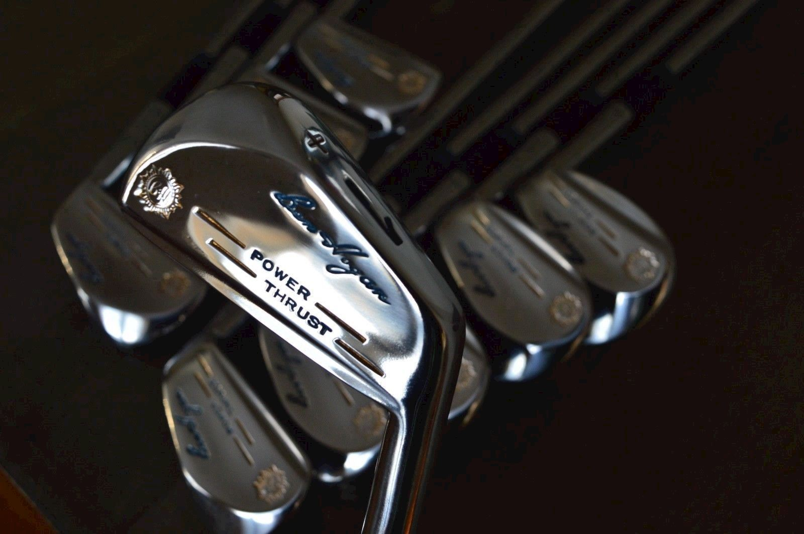 Ben Hogan forged iron set 1961 Power Thrust 1/E - refurbished to 100% mint