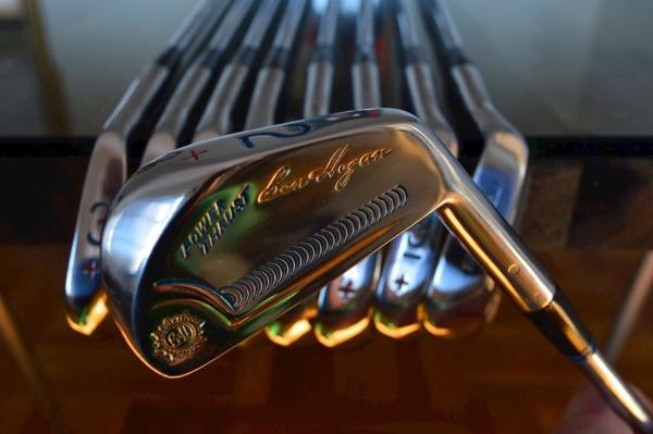 BEN HOGAN FORGED IRON SET 1962 POWER THRUST 2/E - REFURBISHED TO 100% MINT !