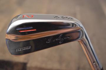 "BEN HOGAN 1954/55 PRECISION 2 IRON ""EXPERIMENTAL"" - REFURBISHED - ORG.SHAFT&GRIP"