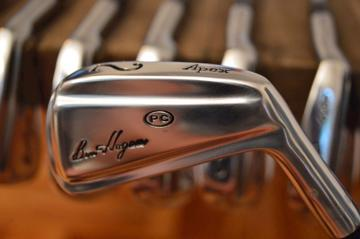 Ben Hogan iron set 2/E - the 1984 Apex pc forged blade irons