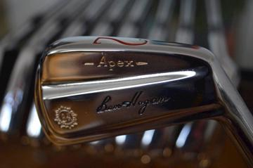 Ben Hogan iron set - the 1972 Apex Forged Blade - 2/E refurbished to mint condition.