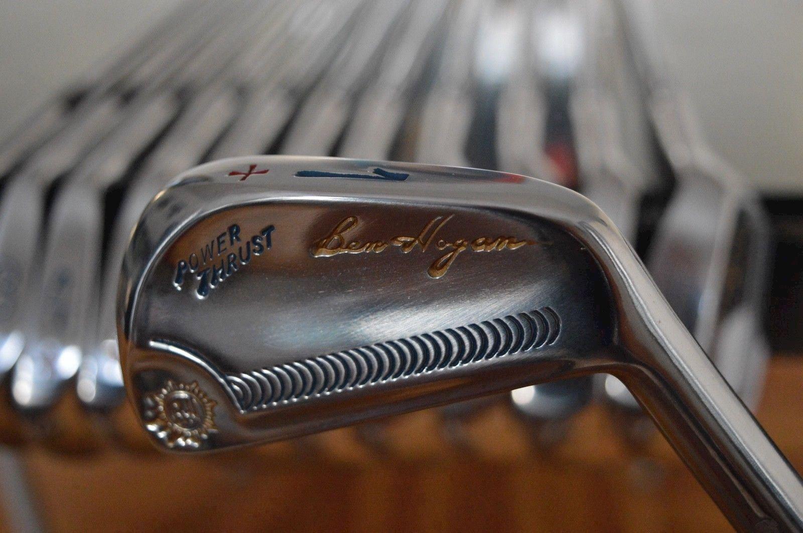 Ben Hogan Vintage 1962 PowerThrust golf iron set 1/E 42' & 45 ...